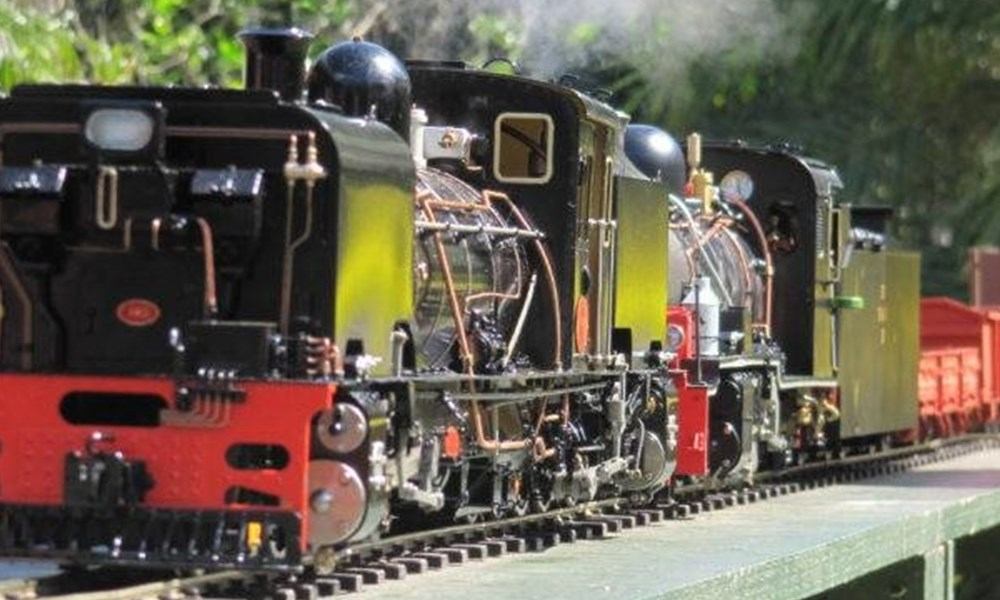 Larger scale model trains exhibition this December