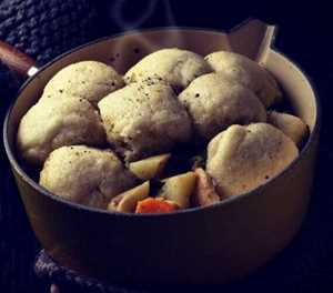 Recipe: Thick vegetable and chicken soup with dombolo