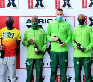 Plaatjies en Bosman presteer by African X-wedloop