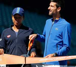 Djokovic and Osaka top seeds for US Open