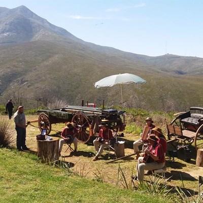 Die ou tolhuis in Montagupas terug in volle glorie na 2018-brand