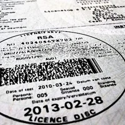 No grace period for vehicle discs expired during lockdown