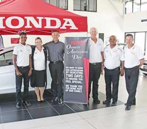 Honda appreciation day a real treat