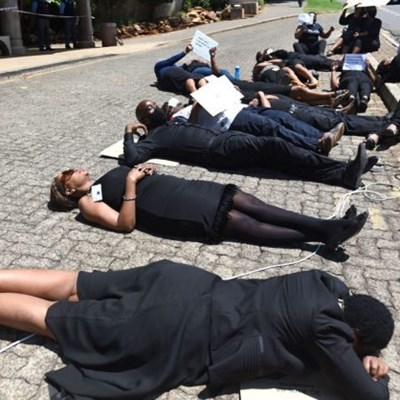 SABC employees protest impending retrenchments