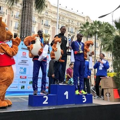 Ethiopia sweeps Paris marathon, Calvin smashes French record