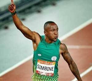 Simbine is starting to find form in Europe