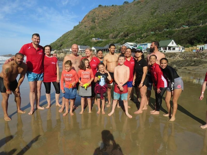 Take the plunge for charity