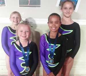 Gimnaste presteer by Wes-Kaap kampioenskappe