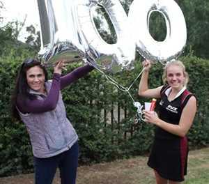 100 wedstryde vir Volksie Inge
