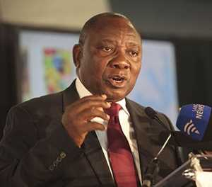 Ramaphosa returns to SA after signing free trade agreement with AU