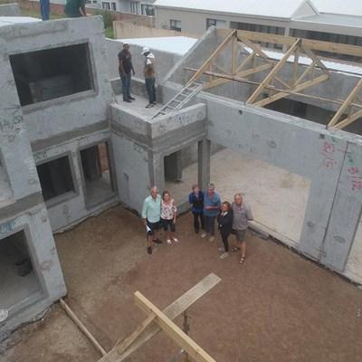 How Selcrete™ built the Malans' dream house