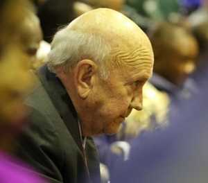 Former president FW de Klerk diagnosed with cancer