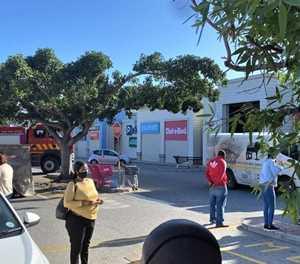 Fire at Langeberg Mall shop