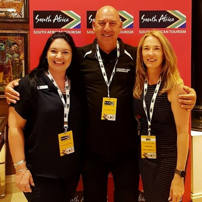 Promoting Mossel Bay at the South Africa India Road Show
