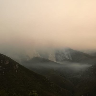 Update: Fire in Herold, Outeniqua mountain