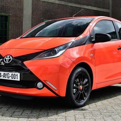 Toyota Aygo opgekikker en verder verfyn