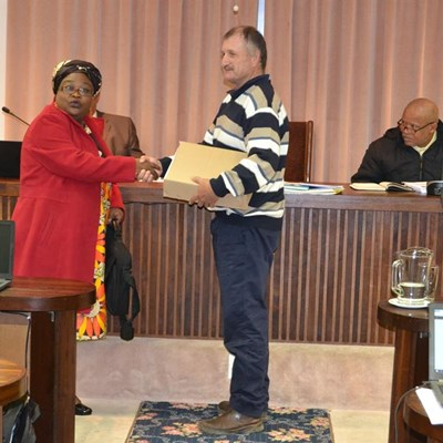 Nortje sworn in as new councillor