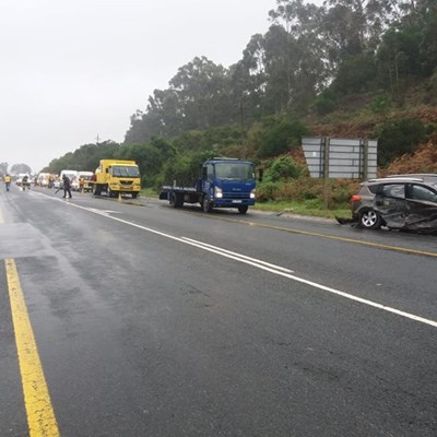 Accident on the N2 just outside Sedgefield