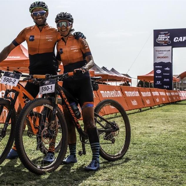Barnard en De Villiers presteer by Cape Pioneer Trek