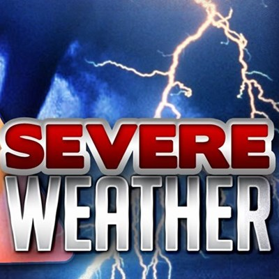 Severe weather alert for weekend