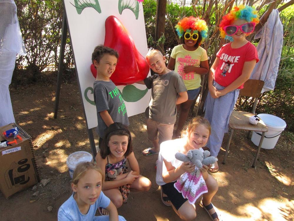 Fun for all at St James Church fair
