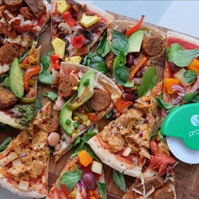 What do Vegans eat on World Pizza Day?