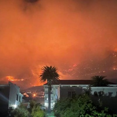 Minister's home 'completely destroyed' by Cape Town fire