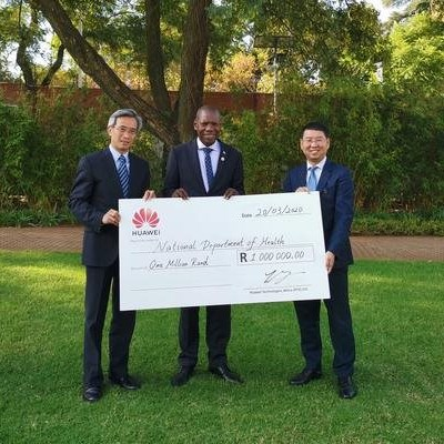 Huawei and China gives R3-m to SA to help fight Covid-19