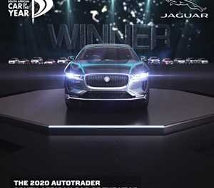 Jaguar I-PACE named 2020 Autotrader South African Car of the Year