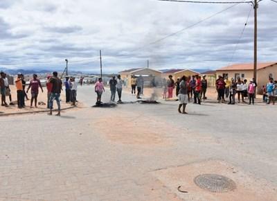 Bande brand in Rosebank