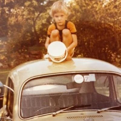 Childhood memories of my dad's Beetle