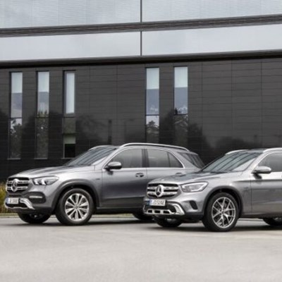 Mercedes-Benz GLC and GLE now plugged-in