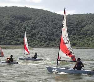 Junior numbers increase at club Lakes Yacht Club