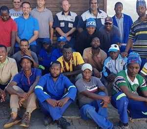 Knysna plumbers lend a helping hand