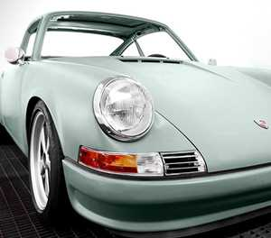 Vintage 911s turned into all-electric cars