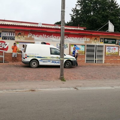 Armed robbery at Pacaltsdorp Superette