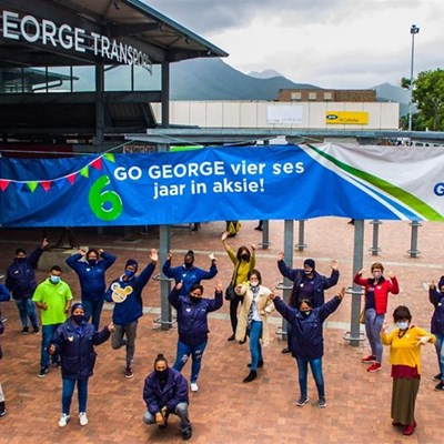 Go George celebrates 6 years of service
