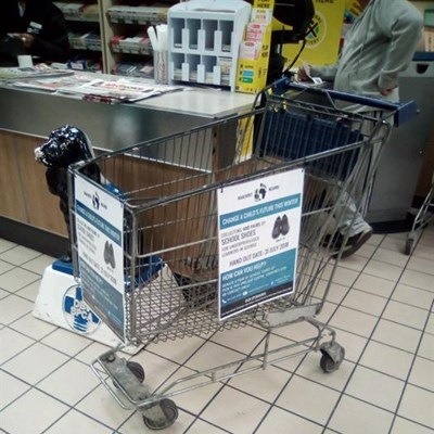Fill up the Kaalvoet Mzansi trolley