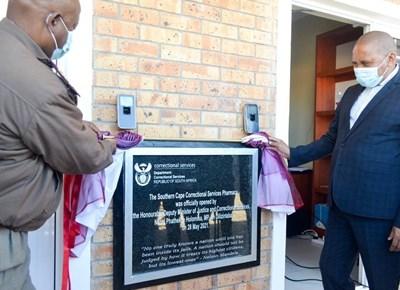 Pharmacy opened on premises of George Correctional Centre