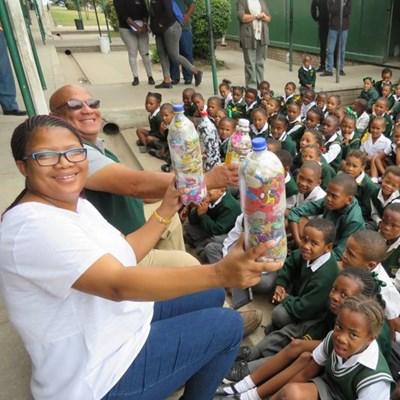 Ecobricks introduced to Heidedal Primary