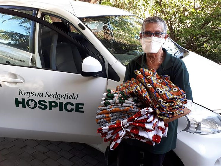 Volunteers help Hospice with PPE