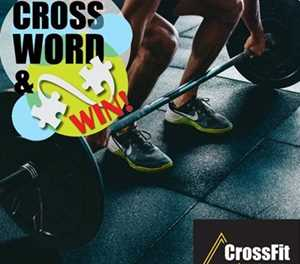 MONTHLY CROSSWORD: WIN A 1-MONTH CROSSFIT MEMBERSHIP WORTH R450