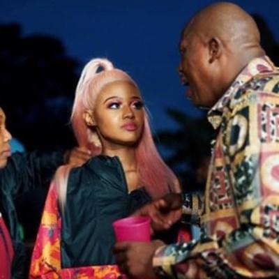 Babes Wodumo hasn't talked to Masechaba Khumalo since