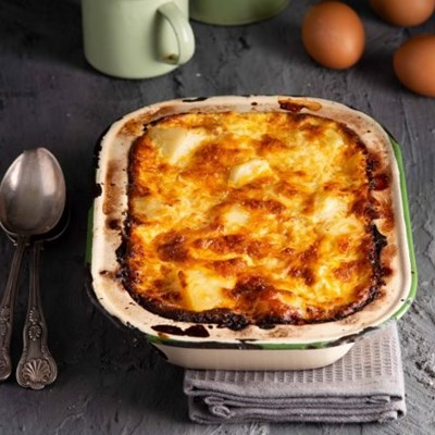 What's for dinner – Potato, sausage and egg casserole