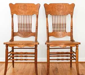Preserving and restoring antique chairs