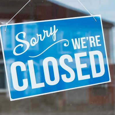 George Library closed: Covid-related measures