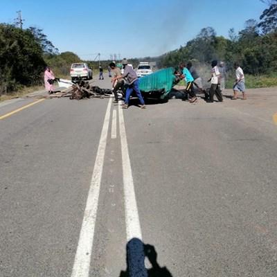 Protesaksie op Sewe Passe-pad