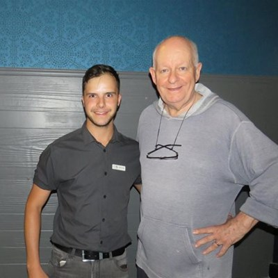Pieter-Dirk Uys in George