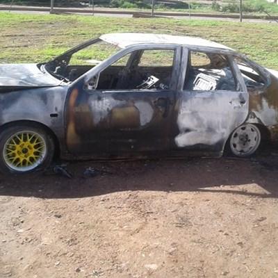 Inwoners verlig toe motor brand