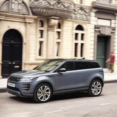 New sophisticated Range Rover Evoque